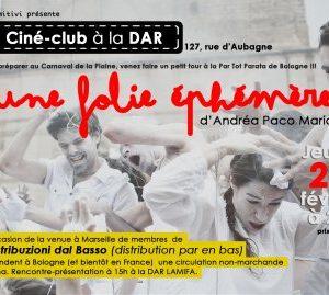 Carnaval à la Bolognaise – Projection / Rencontre