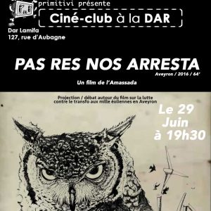 Ciné Club Primitivi «Pas Nos Res Arresta» avec l'Amassada
