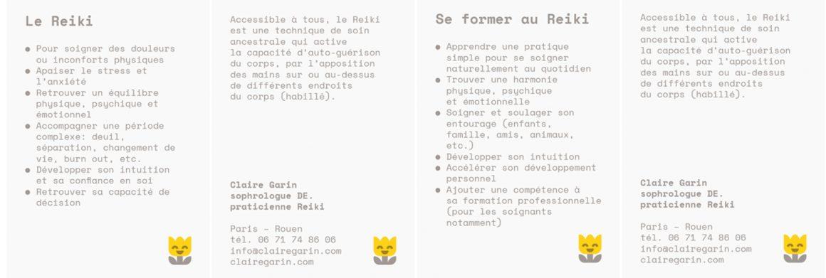 Stage de Reiki 1 du 17 au 18 Juillet 2017 à Auriol avec Claire Garin