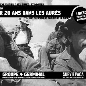 Projection avoir 20 ans dans les Aurès / Survie PACA- Germinal